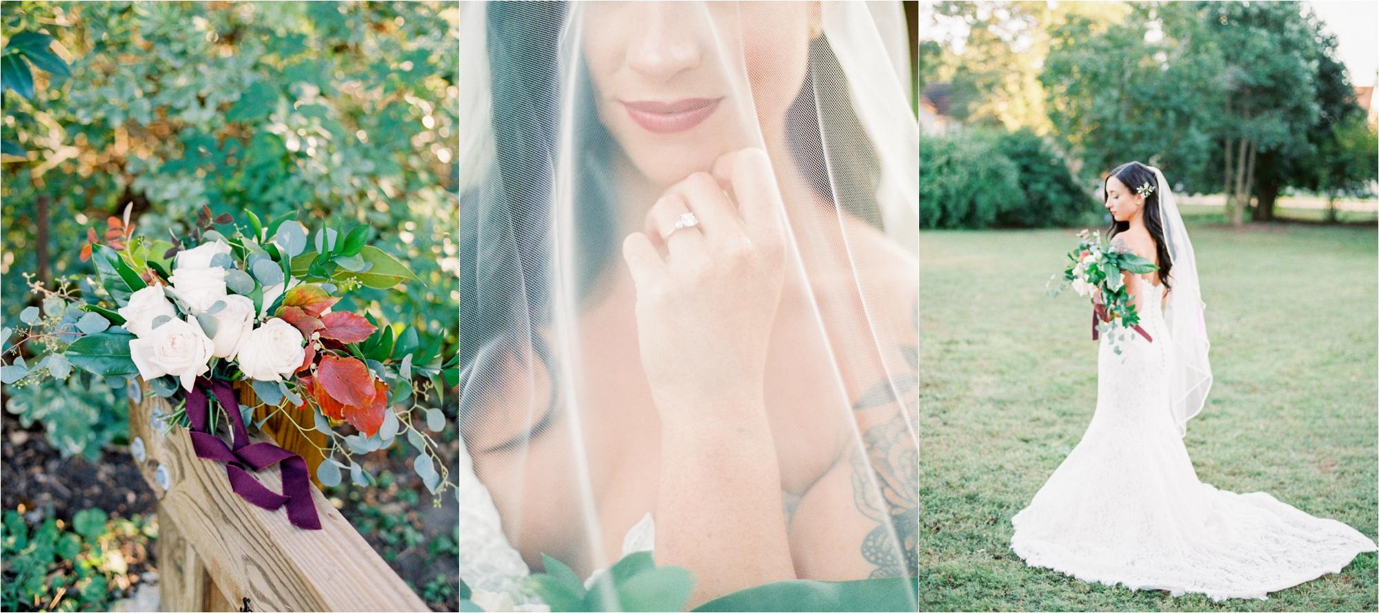 Dallas Botanical Gardens Fine Art Film Wedding Photographer Abbey Leigh Photography