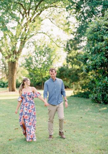 Fort Worth Botanic Garden Engagement